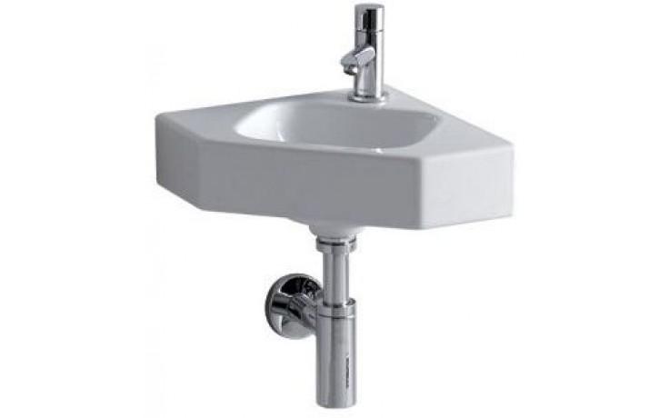 Umývátko rohové Keramag s otvorem iCon rameno 32,5 cm bílá