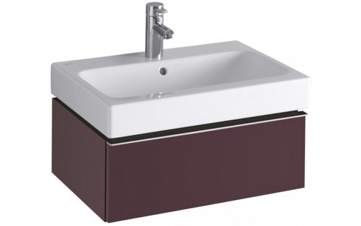 Nábytek skříňka pod umyvadlo Keramag iCon 59,5x27x47,7 cm burgundy lesklá