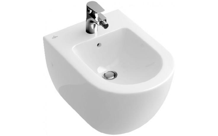 Bidet Villeroy & Boch 1-otvorový Verity Design Bílá Alpin Ceramicplus