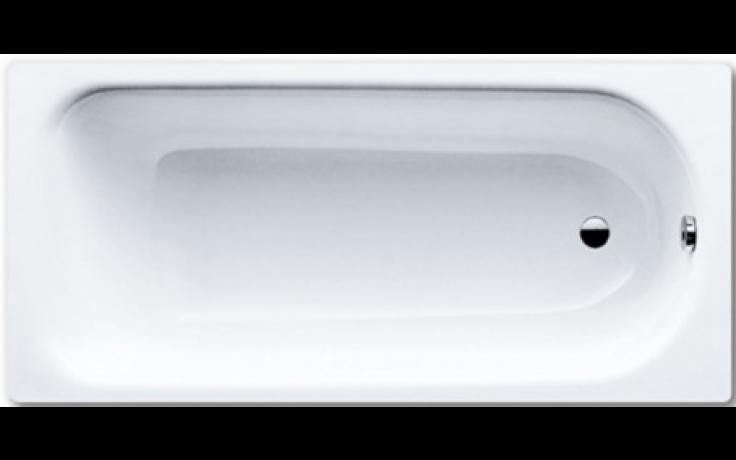 KALDEWEI SANIFORM PLUS 362-1 vana 1600x700x410mm, ocelová, obdélníková, bílá, celoplošný Antislip, Perl Effekt