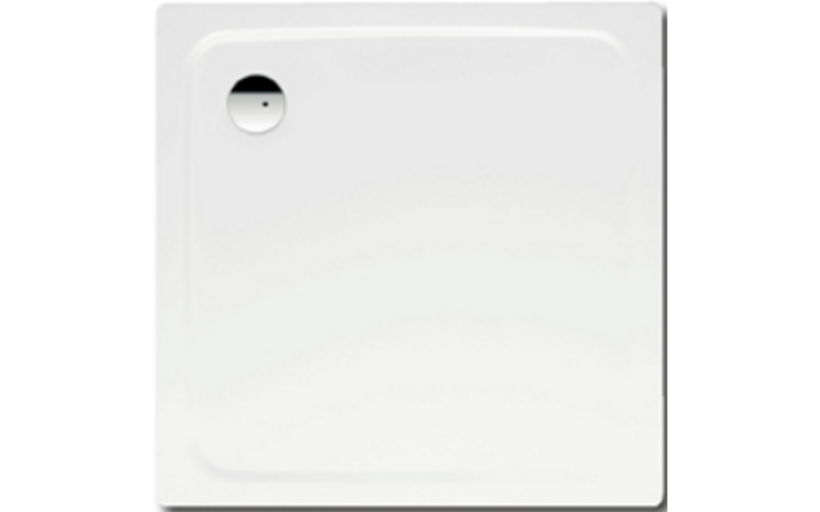 KALDEWEI SUPERPLAN 386-1 sprchová vanička 800x800x25mm, ocelová, čtvercová, bílá Antislip 447530000001