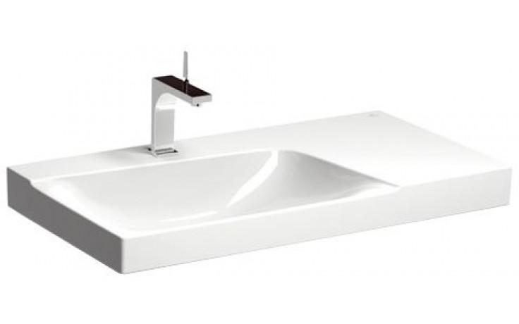 koupelny pt ek keramag xeno 2 umyvadlo 90x48cm bez p epadu odkl dac plocha vpravo b l. Black Bedroom Furniture Sets. Home Design Ideas