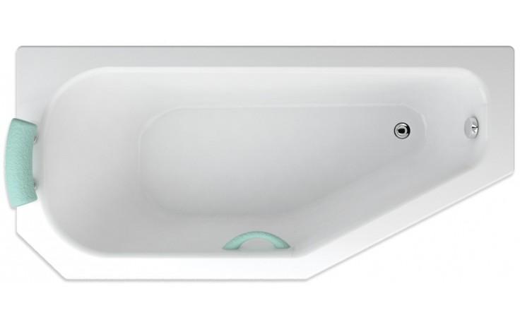 TEIKO PANAMA L vana 160x75x41cm, obdélník, akrylát, bílá