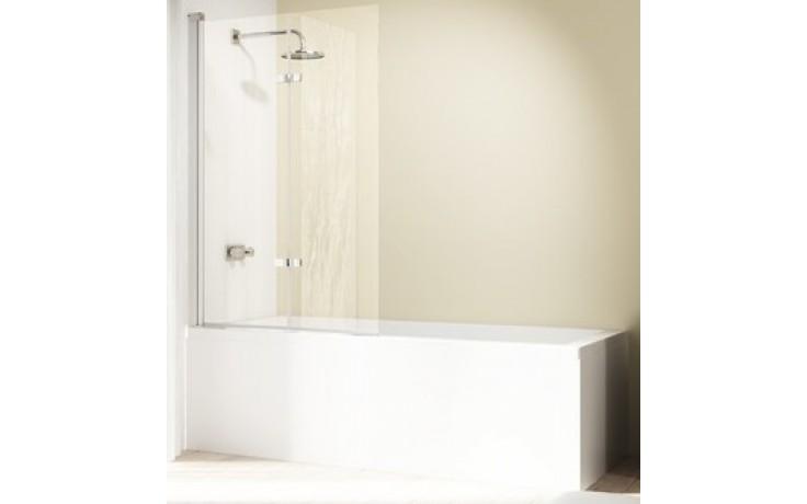 Zástěna vanová Huppe - Design elegance 1200x1500mm stříbrná matná/čiré AP