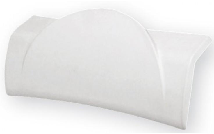 RAVAK BE HAPPY podhlavník k vaně, bílá B612000001