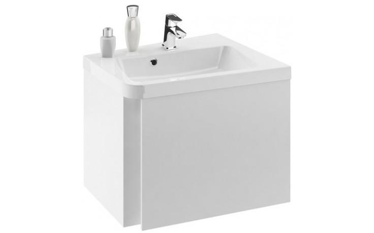 RAVAK 10 skříňka pod umyvadlo 550x485x450mm rohová, levá, bílá X000000739