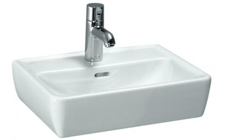 Umývátko klasické Laufen s otvorem Pro 45 cm bílá-LCC