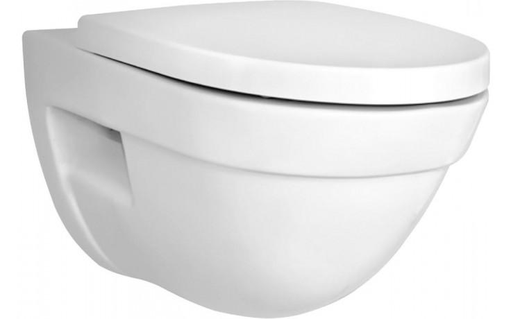 WC závěsné Vitra odpad vodorovný Form 500  bílá