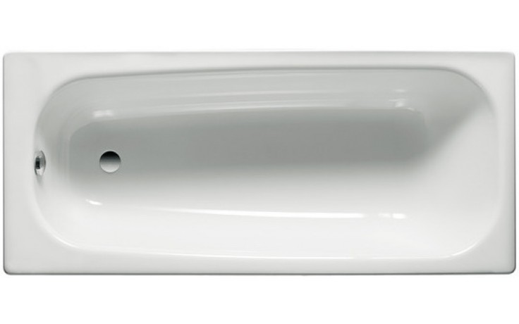 Vana smaltovaná Roca klasická Contesa 150x70 cm bílá