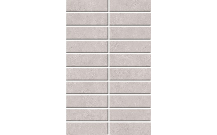 Obklad - Mosaico Boston Perla 25x40 sv.šedá