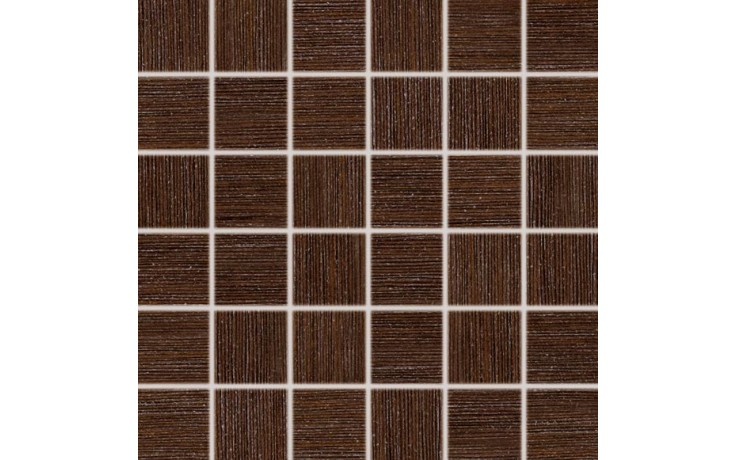 RAKO DEFILE mozaika 5x5cm hnědá DDM06361