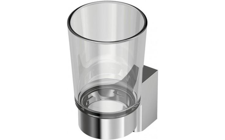 Doplněk držák se skleničkou Ideal Standard Connect  chróm