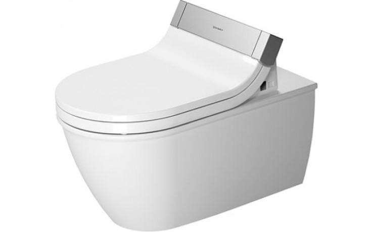 WC závěsné Duravit odpad vodorovný Darling New 37x62 cm bílá + wondergliss