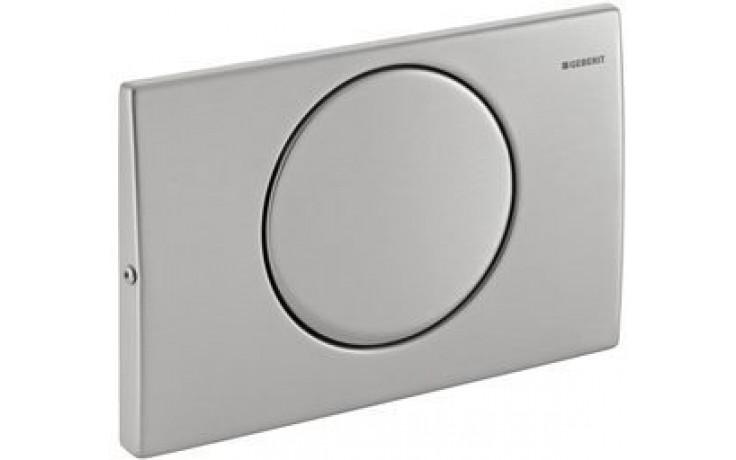 GEBERIT DELTA 15 ovládací tlačítko 24,6x16,4cm, nerezová ocel 115.101.00.1