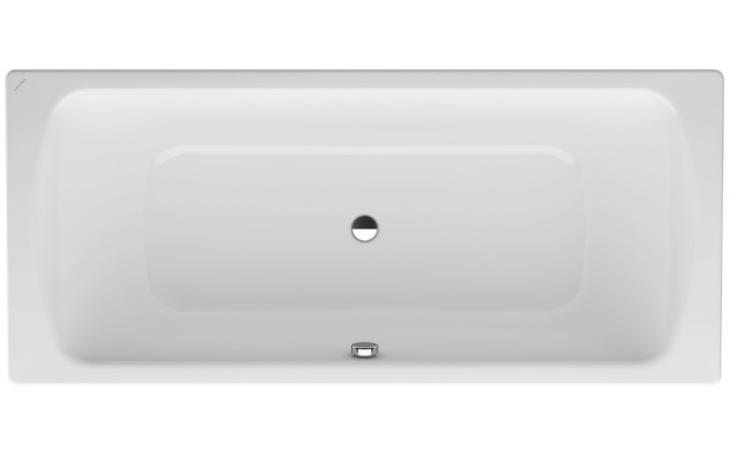 LAUFEN MODERNA PLUS vana ocelová 1700x750mm obdélníková, s protihlukovou izolací, bílá 2.2507.0.000.040.1