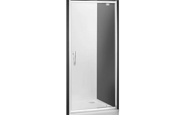ROLTECHNIK PROXIMA LINE PXDO1N/800 sprchové dveře 800x2000mm jednokřídlé pro instalaci do niky, rámové, brillant/transparent
