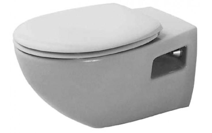 DURAVIT DURAPLUS COLOMBA závěsný klozet 360x575mm s hlubokým splachováním, bílá 2547090000