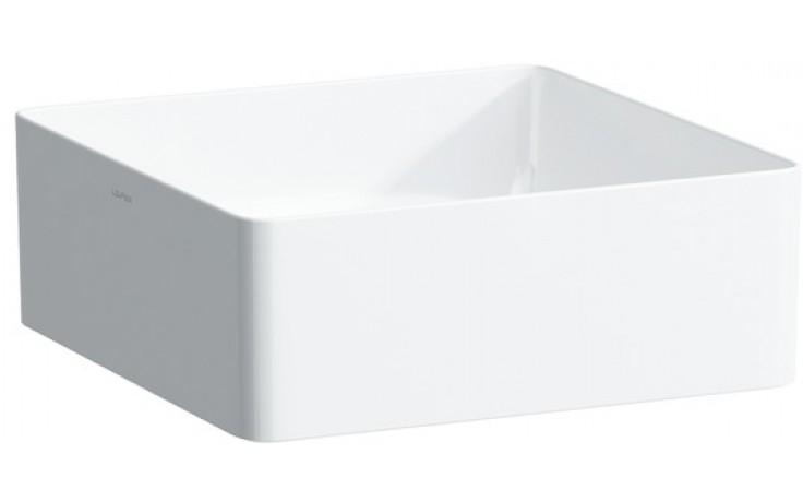 Mísa umyvadlová Laufen bez otvoru Living 36 cm bílá