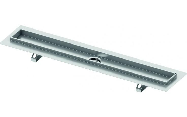 TECE DRAINLINE sprchový žlab 1235mm, pro nalepení dlažby, s těsnící páskou Seal System, nerez