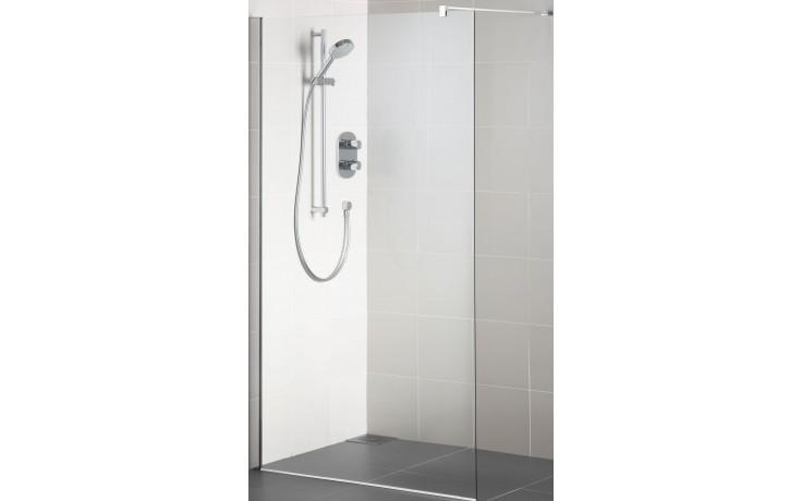 Příslušenství ke sprchovým koutům Ideal Standard - Synergy Wetroom upevňovací rameno - rovné 100 cm Silver Bright
