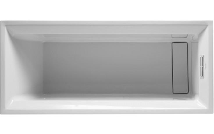 Vana plastová Duravit - 2nd floor 170x75cm bílá