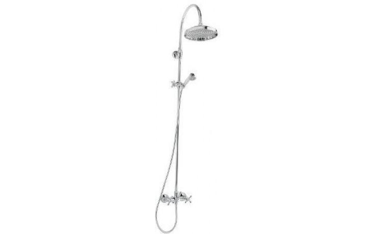 Baterie sprchová Raf nástěnná kohoutková Retro vč. sprch. kompletu 150 mm chrom
