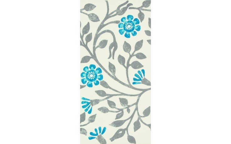 MARAZZI COVENT GARDEN dekor 18x36cm white/grey/blue