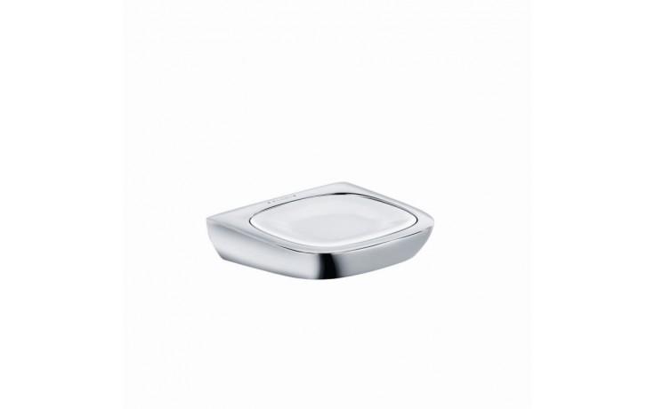 Doplněk držák s mýdlenkou Kludi Amba  chrom-porcelán
