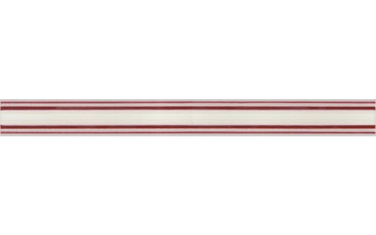 NAXOS CRYSTAL listela 4,5x45cm, easy rosso 69641