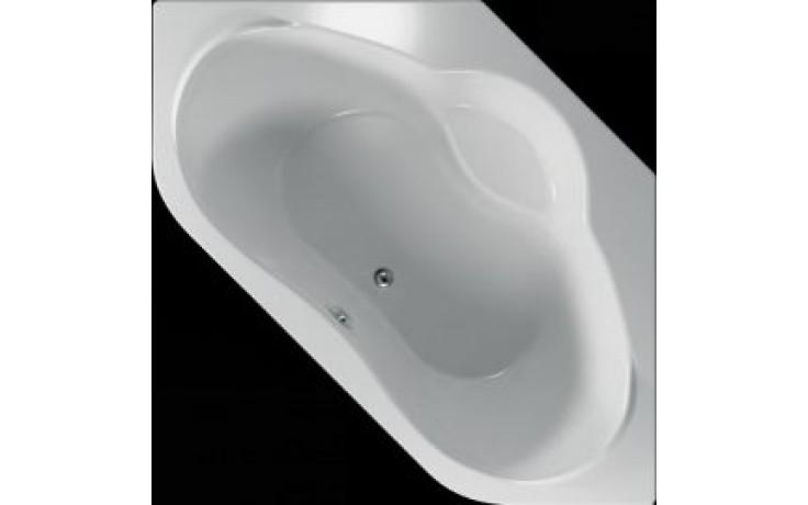 Vana plastová Teiko tvarovaná Naxos 140x140x44,5cm bílá