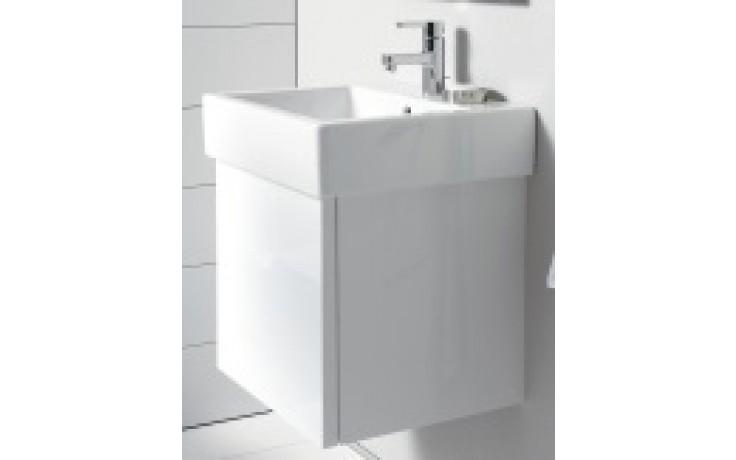 DURAVIT DELOS skříňka pod umyvadlo 550x445mm nástěnná, bílá lesk/bílá lesk DL622408585