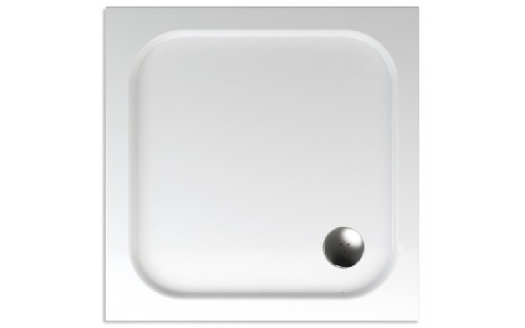 TEIKO ERIS sprchová vanička 90x90x3,5cm, čtverec, akrylát, bílá