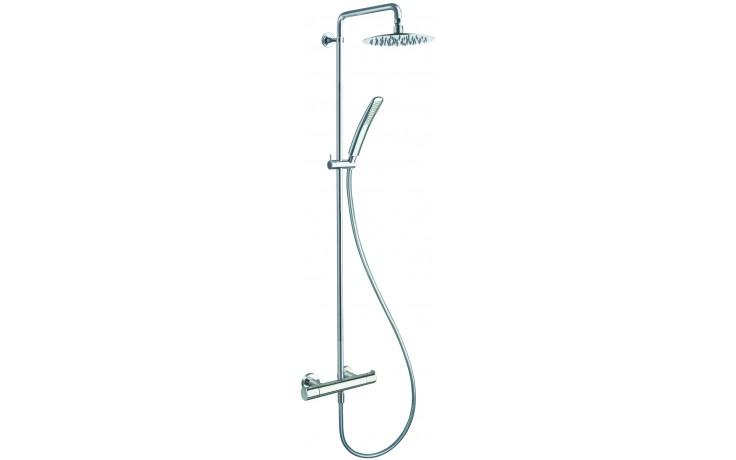 CRISTINA NEW DAY sprchová baterie nástěnná termostatická s příslušenstvím chrom LISND45851