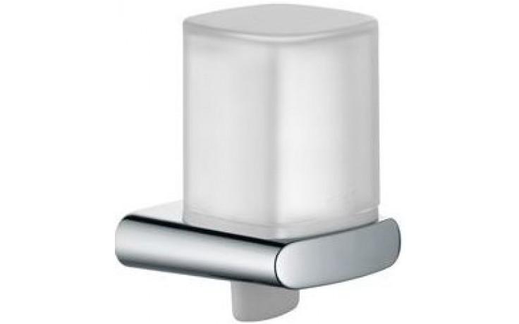 KEUCO ELEGANCE dávkovač 180ml tekutého mýdla, nástěnný, chrom/sklo mat
