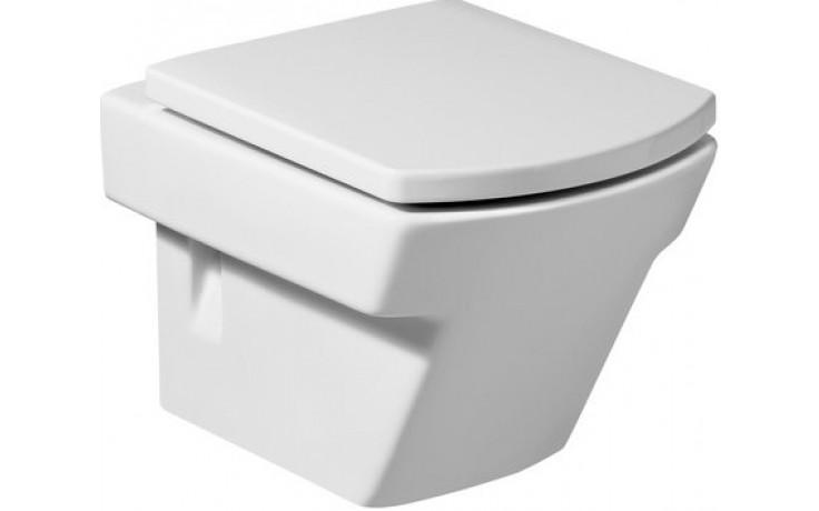 WC závěsné Roca odpad vodorovný Hall 56 cm bílá