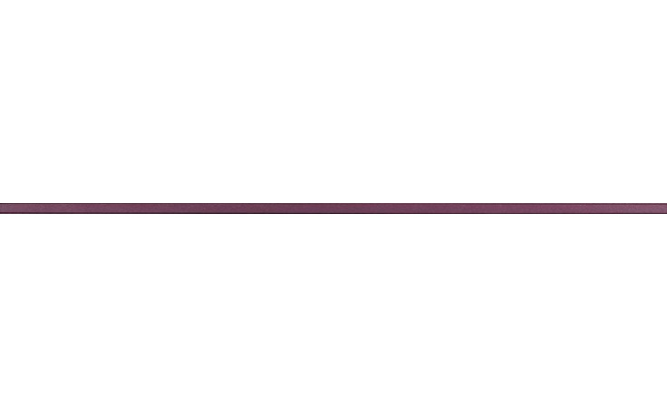 RAKO CHARME listela reliéfní 60x1,5cm bordó WLASW002