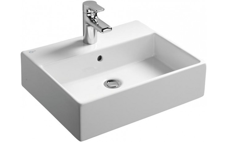 Umyvadlo klasické Ideal Standard s otvorem Strada  50x42 cm bílá+Ideal Plus