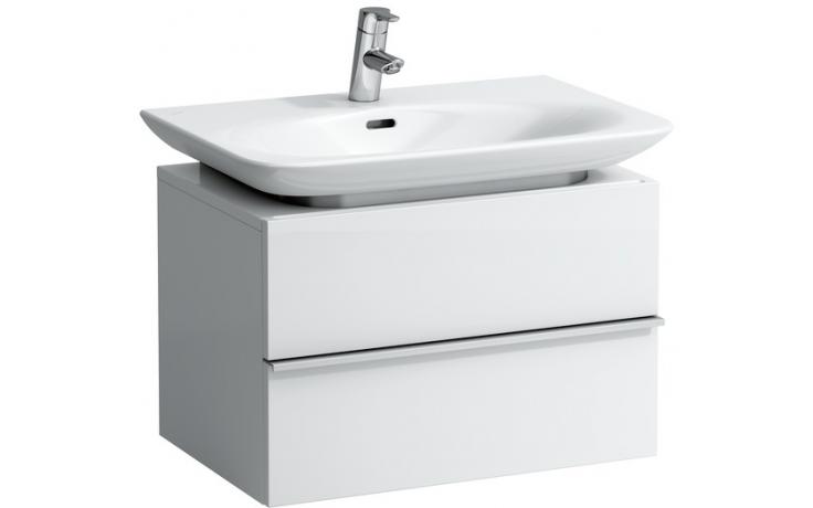 Nábytek skříňka pod umyvadlo Laufen New Case 64,5x43x46 cm bílá lesk