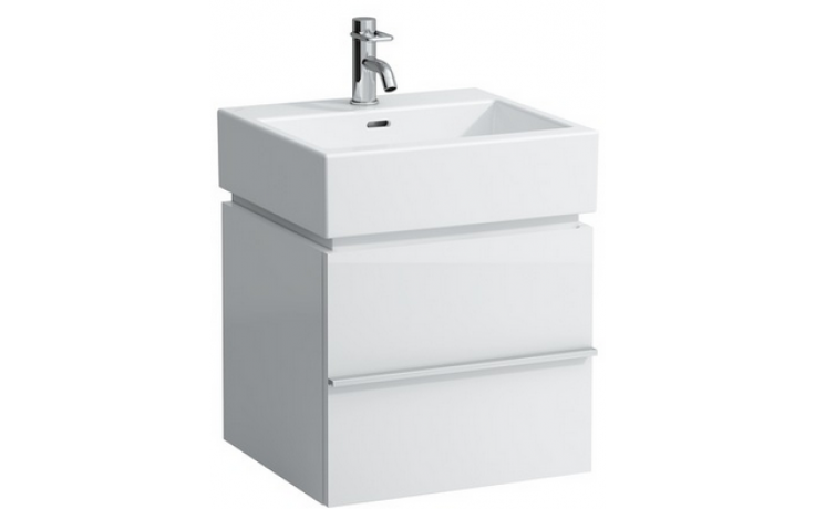 LAUFEN CASE skříňka pod umyvadlo 490x455x455mm se 2 zásuvkami, vápněný dub 4.0113.2.075.519.1
