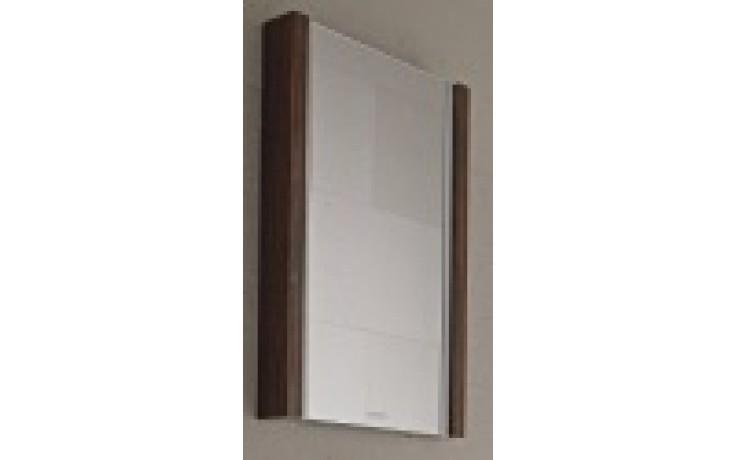 DURAVIT 2ND FLOOR zrcadlo s osvětlením 1200x72mm ebenové dřevo/ebenové dřevo 2F964805959