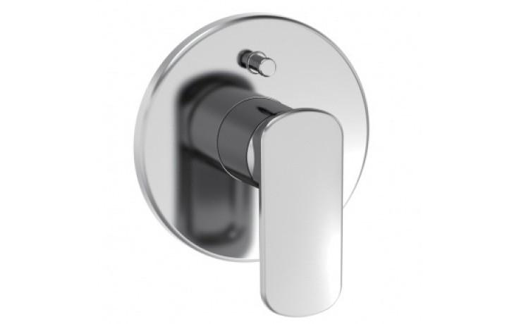 LAUFEN CITYPRIME vanová sprchová páková podomítková baterie s přepínačem, vrchní sada, chrom