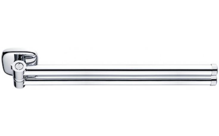 Doplněk držák Nimco Simona otočný, dvojitý 43 cm chrom