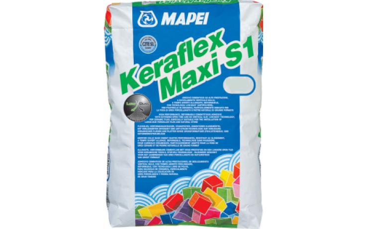 MAPEI KERAFLEX MAXI S1 cementové lepidlo 23kg, deformovatelné, bílá