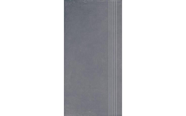 RAKO CLAY schodovka 30x60cm šedá DCPSE642