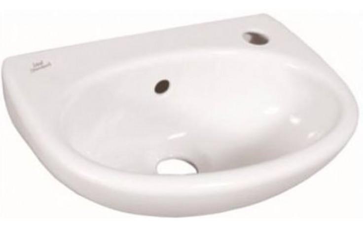 IDEAL STANDARD EUROVIT umývátko 350x260mm s otvorem vpravo bílá E147901