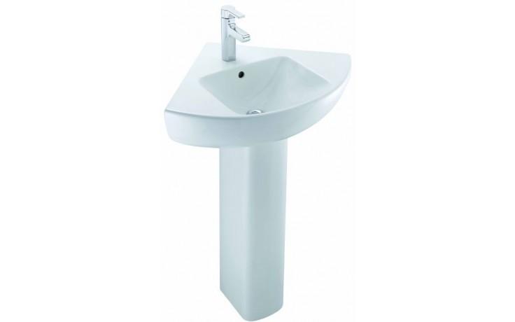 KOHLER REACH rohové umývátko 500x500mm s otvorem, white 18582W-00