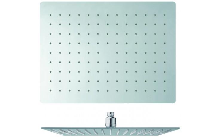 Sprcha hlavová Cristina Sandwich Plus 400x300mm chrom