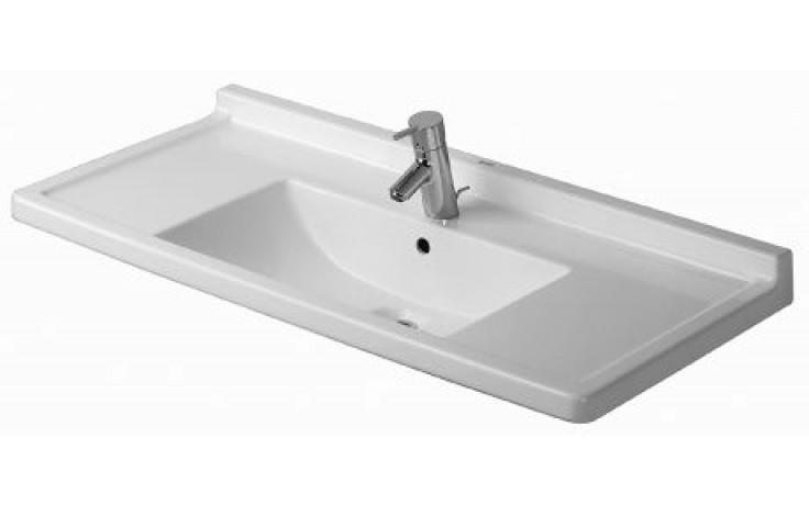 Umyvadlo nábytkové Duravit - Starck 3 105x48,5 cm bílá