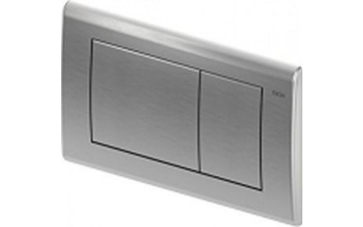 TECE PLANUS WG904/RG3 ovládací tlačítko 214x144mm, dvoumnožstevní splachování, nerezová ocel broušená