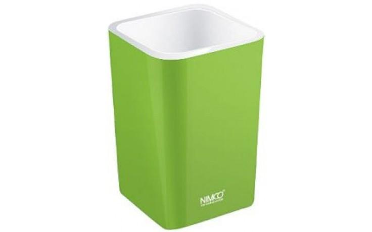 Doplněk ostatní Nimco Eli pohárek na kartáčky  zelená